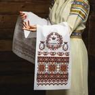 "The Towel ""Ornament. Crown"", 150х36 cm"