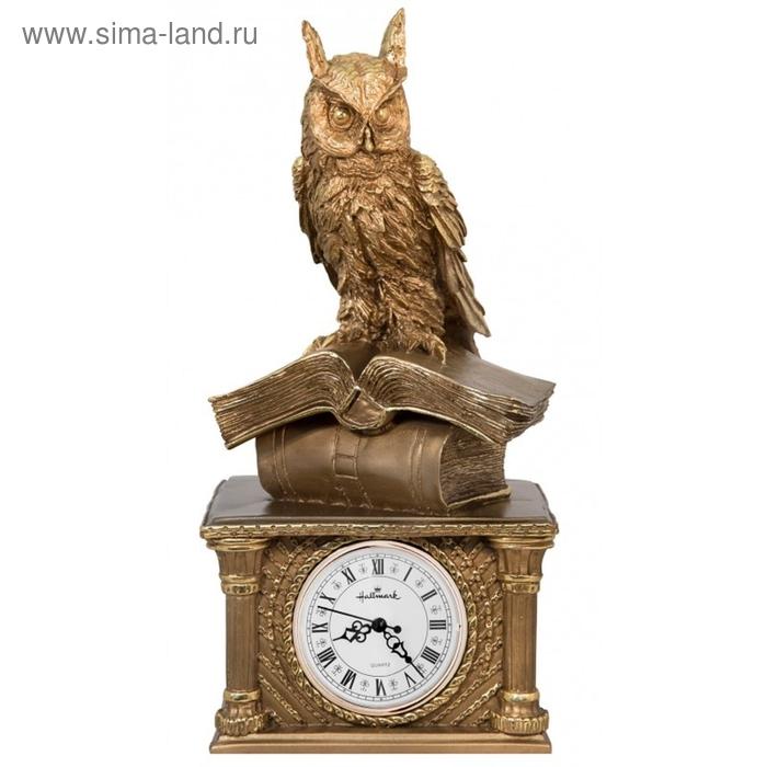 "Часы ""Сова на книгах"""