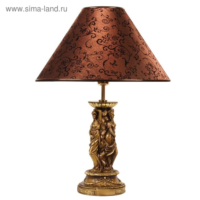 """Настольная лампа """"Барокко"""", коричневый"""