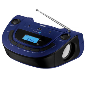 Аудиомагнитола BBK BS07BT, темно-синий Ош