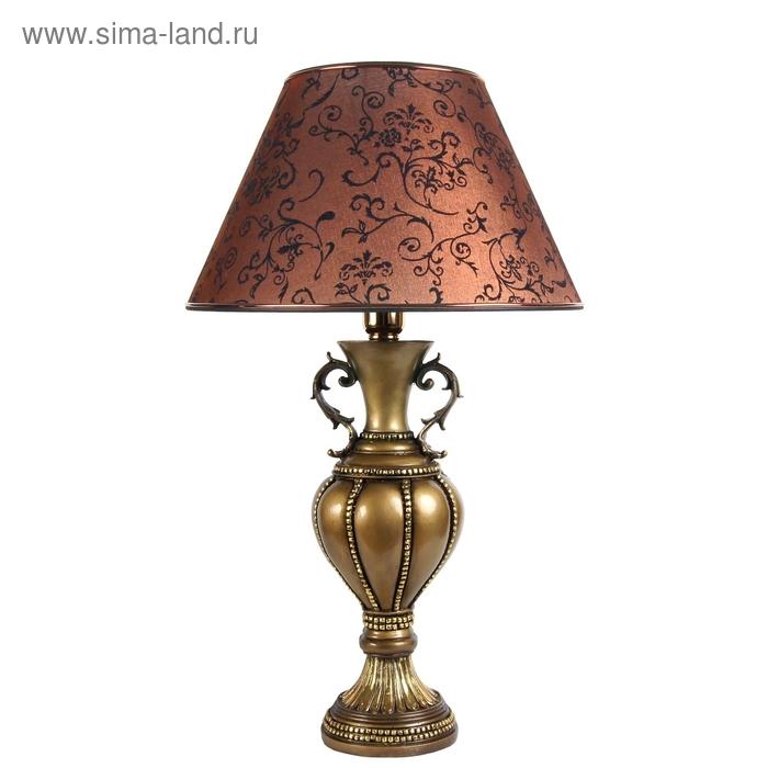 """Настольная лампа """"Классика"""" №2, коричневый"""