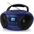 Аудиомагнитола BBK BX170BT, темно-синий