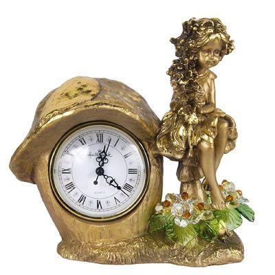 "Часы ""Лесная фея"", с хрустальными цветами, 6016 LM"
