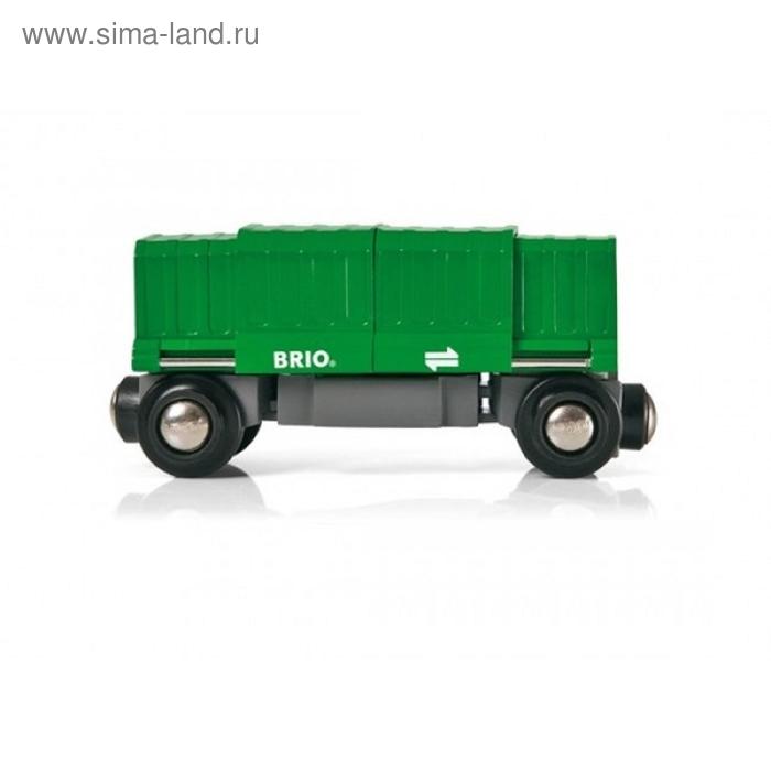 BRIO Вагон раздвижной, 2 элемента, 10,8х3,4х5см, шт