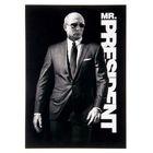 """Плакат А4 """"В.В. Путин. Mr.President"""", картон"""