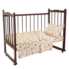 "Детское постельное бельё Galtex ""Медвежата"", цвет микс, 147х112см, 150х100см, 40х60см 1шт, бязь 145±7 г/м"