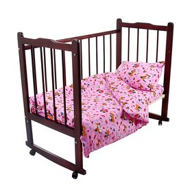 Детское постельное бельё Galtex 'Друзья', цвет микс, 147х112см, 150х100см, 40х60см 1шт, бязь 145±7 г/м Ош