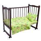Детское постельное бельё для мальчика (пододеяльник 112*147 см, наволочка 40*60 см, простынь 100*150 см), цвет МИ