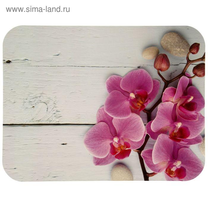 """Салфетка сервировочная """"Орхидея"""" ПВХ 26 х 33,5 см"""