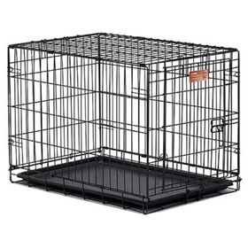 Клетка Midwest iCrate с одной дверью, 76 х 48 х 53 см, черная