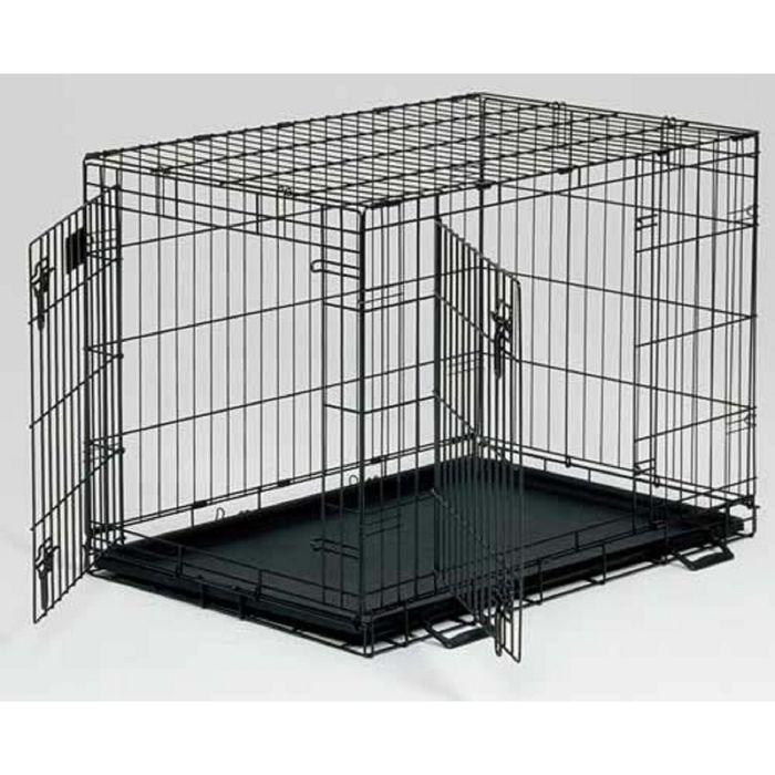 Клетка Midwest Life Stage, 2 двери, 122 х 76 х 84 см, черная