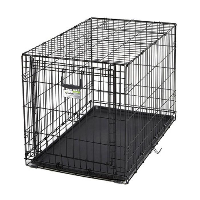 Клетка рельсовая Midwest Ovation с одной дверью, 94,6 х 58,4 х 63,5 см, черная