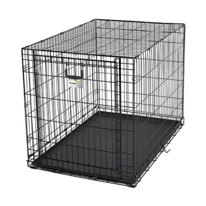 Клетка рельсовая Midwest Ovation с одной дверью, 111 х 71,7 х 76,8 см, черная