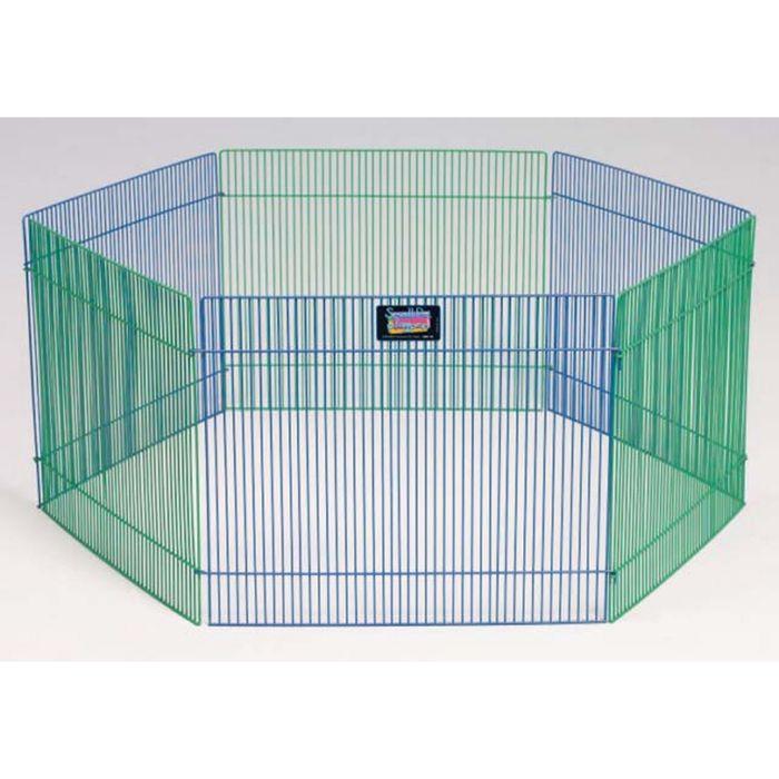 Вольер Midwest для грызунов, 6 панелей, 38х48h см, цветной