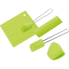 Набор кухонных принадлежностей CALVE, 5 предметов, силикон