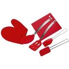 Набор кухонных принадлежностей CALVE, 6 предметов, силикон