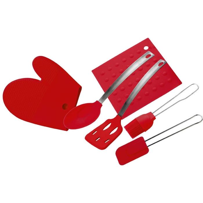 Набор кухонных принадлежностей CALVE, 6 предметов, цвет МИКС
