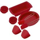 Набор принадлежностей для выпечки CALVE, 10 предметов, силикон