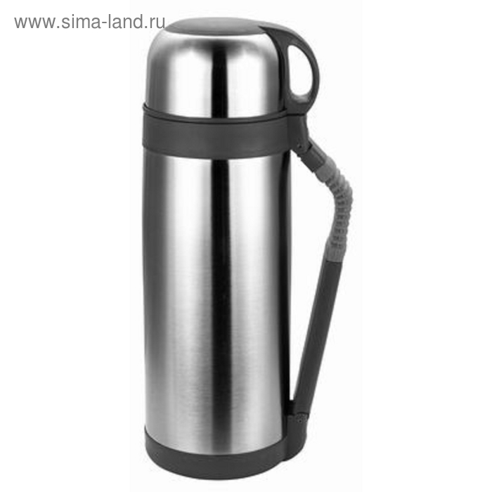 Термос  CALVE, 1.8 л, с кнопкой для подачи воды, с ручкой для переноски, с чашкой, металл
