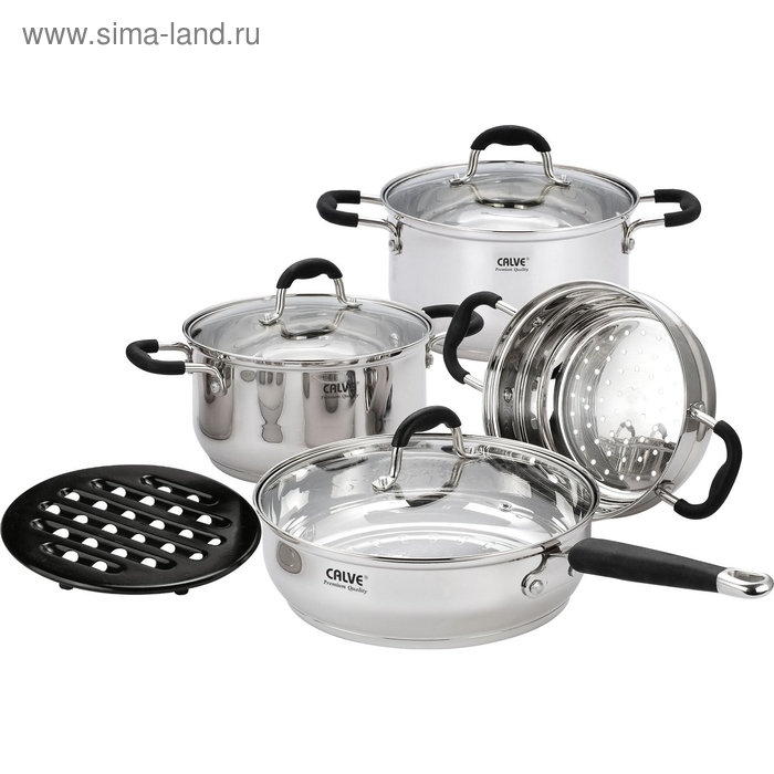 Набор посуды CALVE, 8 предметов
