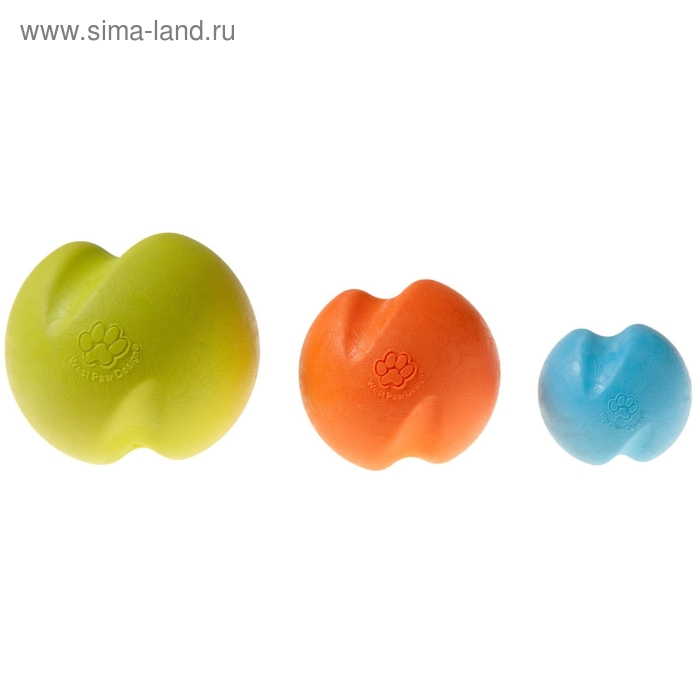 Мяч для собак Zogoflex Jive S, 6,6 см, голубой
