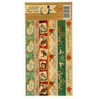 Наклейка‒тесьма «Рождественское ретро», ,10,5 х 21 см