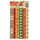Наклейка‒тесьма Christmas diary,10,5 х 21 см