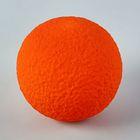 Шар из пенопласта 8 см, оранжевый