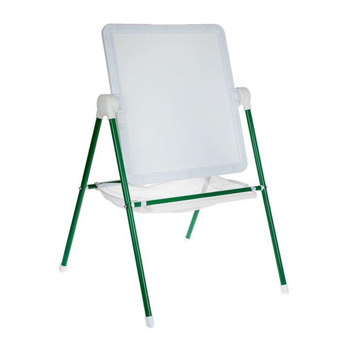 Мольберт детский универсальный White, цвет бело-зеленый, 52,1х46,2 см