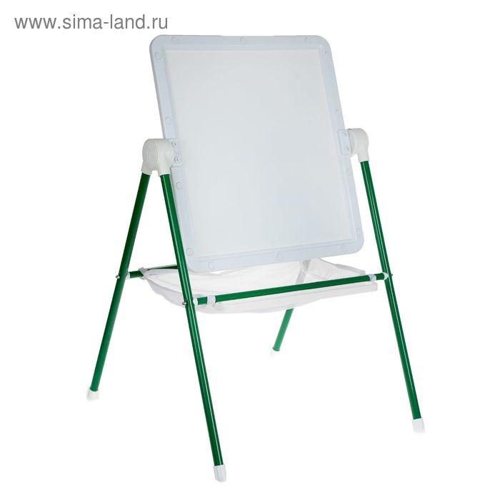 Мольберт детский универсальный White, цвет бело-зеленый