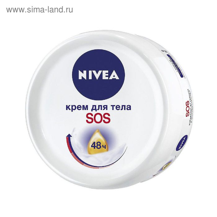 Интенсивный крем Nivea SOS для тела, 200 мл