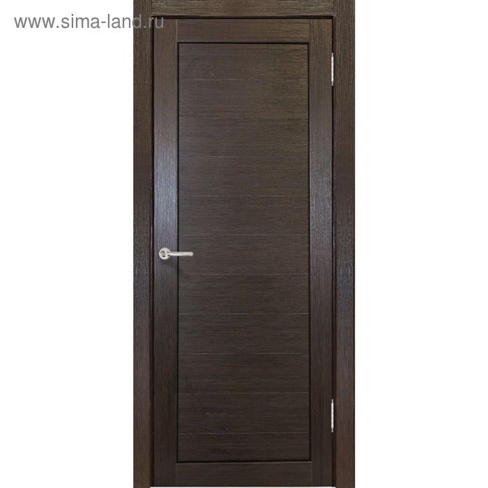 Дверное полотно Аврора Венге 2000х600