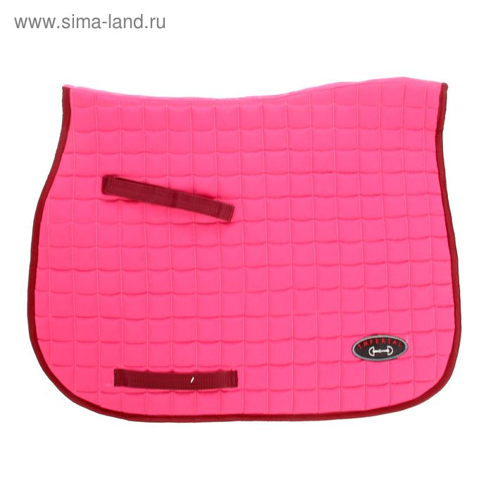 Вальтрап универсальный на вафле, розовый/бордовая окантовк