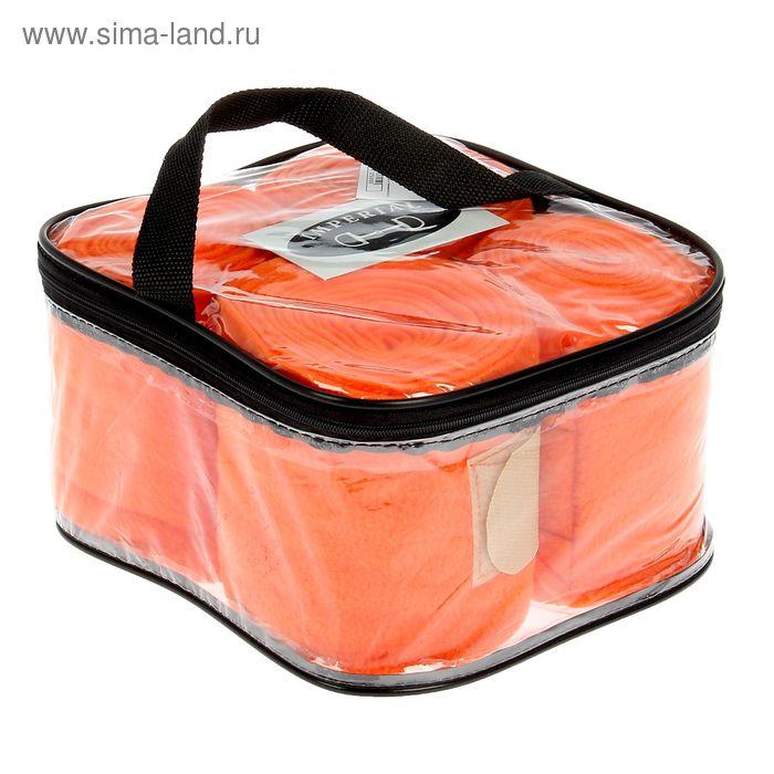 Бинты флисовые комплект 4шт(стан), 3 м х 12 см, оранж