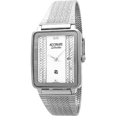 Часы наручные унисекс ACCURATE AMQ1669 white
