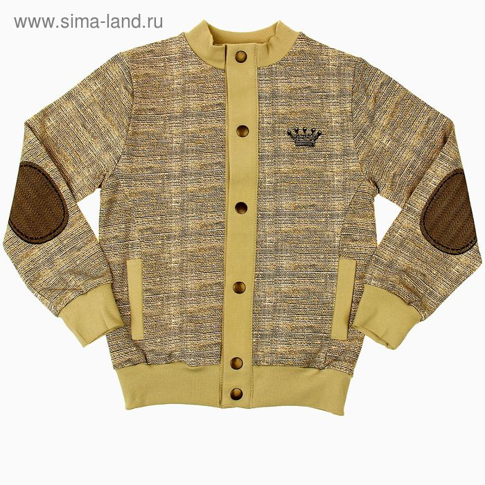 """Куртка для мальчика """"Король Лев"""", рост 110 см (56), цвет песочный (арт. ПДД561258н_Д)"""