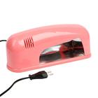 Лампа для гель-лака LuazON LUF-04, UV, розовый перламутр