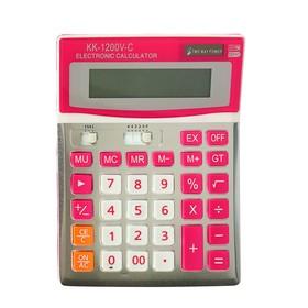 Калькулятор настольный 12-разрядный KK-1200V двойное питание Ош