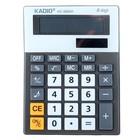 Калькулятор настольный 08-разрядный K03860B двойное питание, с мелодией, микс