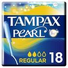 Тампоны «Tampax» Discreet Pearl, с аппликатором - Regular, 18 шт