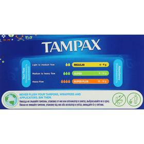 Тампоны «Tampax» Compak Super Plus, с аппликатором, 16 шт - фото 7866462
