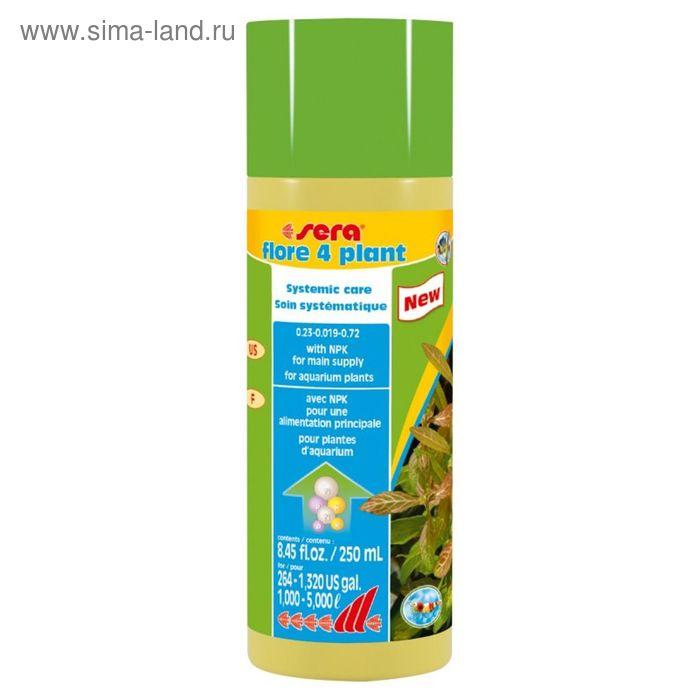 Удобрение для растений Sera Flore  4 плант, 250 мл