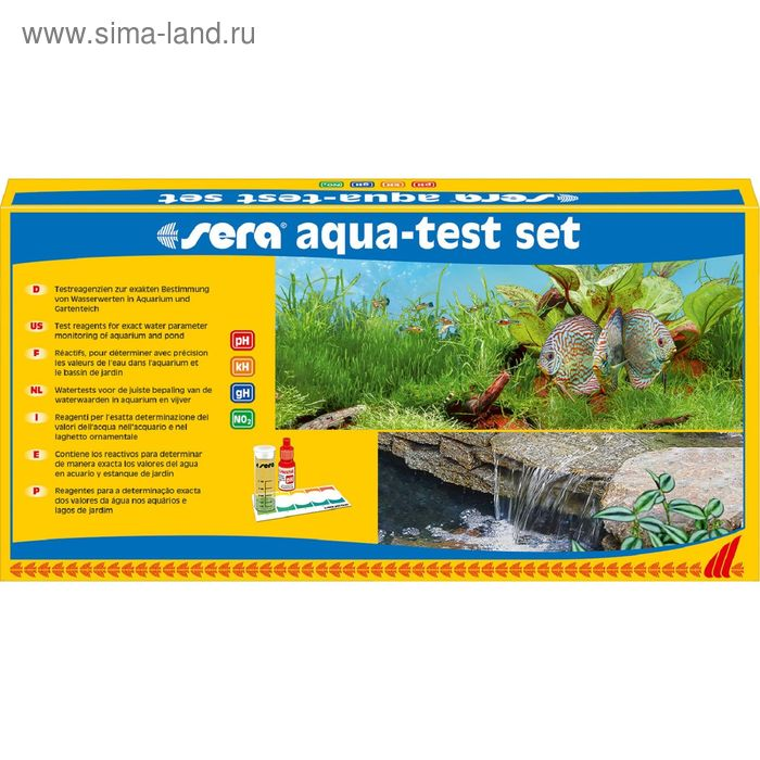 Набор тестов для воды AQUA-TEST-SET