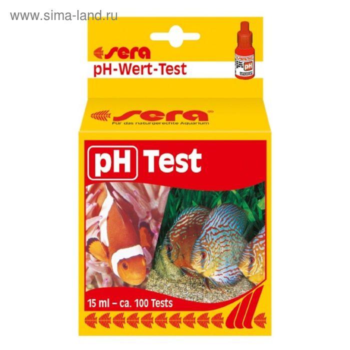 Тест для воды Sera PH, 15 мл.