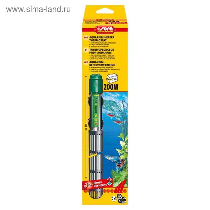 Терморегулятор регулир. аквариумный SERA,  200 Вт