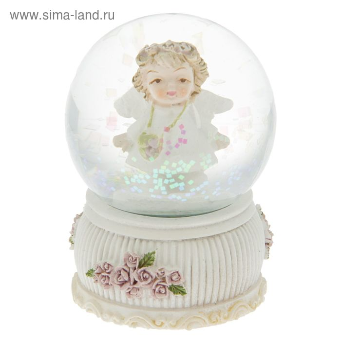 "Сувенир водяной шар ""Девочка — ангел"""