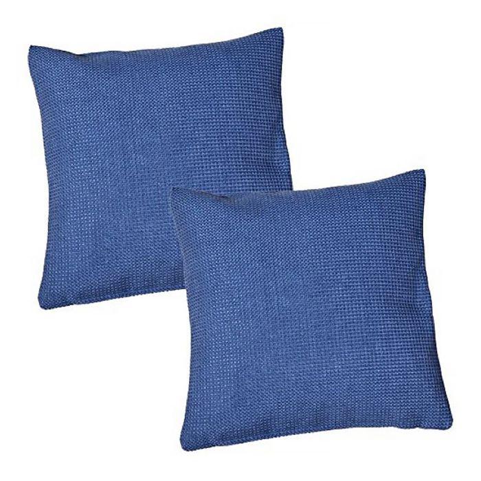 Подушка декоративная DALLAS, 50X50,  цвет темно-синий