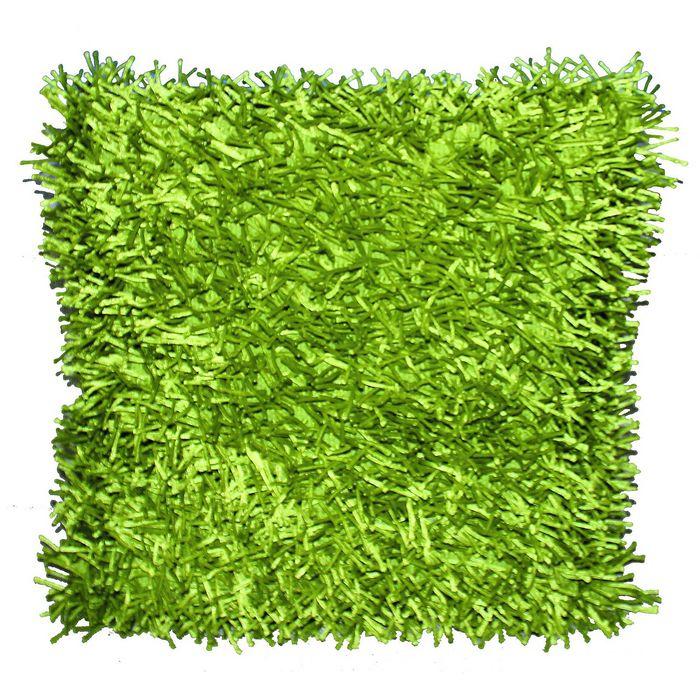 Подушка GOEZZE  Langflor-Teppich, 50Х50, цвет зеленый