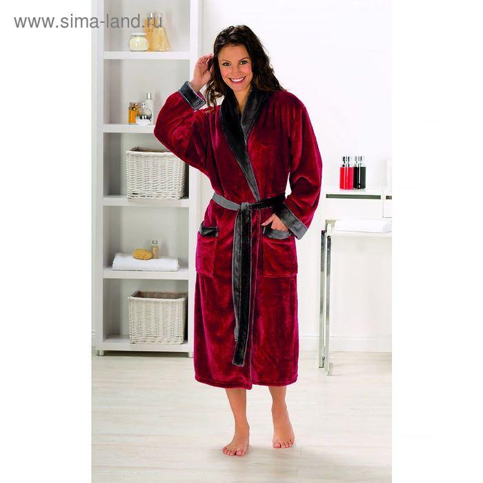 Халат GOEZZE Seiden-Feeling, размер XL (50), цвет красный
