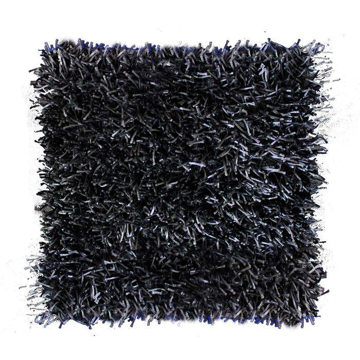Подушка GOEZZE  Langflor-Teppich, 50Х50, цвет графитовый